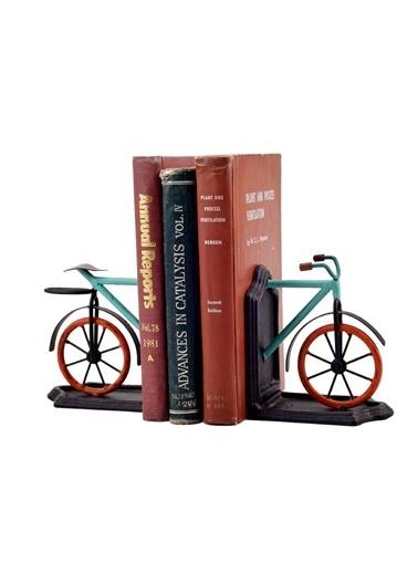 Warm Design Metal Bisiklet Kitap Düzenleyicisi  Renkli